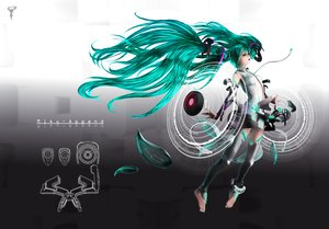 Rating: Safe Score: 67 Tags: 3d hatsune_miku miku_append nekoita twintails vocaloid User: HawthorneKitty