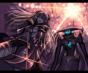 Rating: Safe Score: 67 Tags: gia long_hair mage original pixiv_fantasia sketch sword weapon User: FoliFF