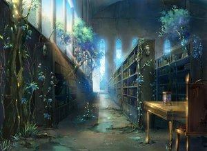 Rating: Safe Score: 142 Tags: book building flowers gahakuna_kuroneko grass nobody original ruins scenic tree User: RyuZU