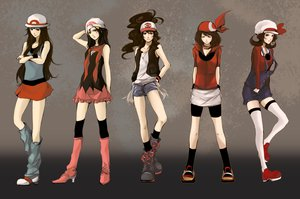 Rating: Safe Score: 201 Tags: boots fuki_(i800) gloves haruka_(pokemon) hat hikari_(pokemon) kotone_(pokemon) pokemon ponytail scarf shorts thighhighs touko_(pokemon) User: PAIIS