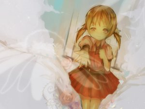 Rating: Safe Score: 32 Tags: brown_hair flowers kaai_yuki rose twintails vocaloid User: HawthorneKitty