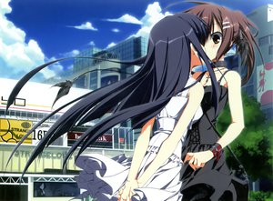 Rating: Safe Score: 201 Tags: 2girls dress kagome kiss minakami_yuki seifuku subarashiki_hibi takashima_zakuro yuri User: Wiresetc
