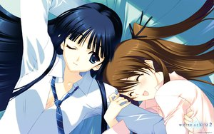 Rating: Safe Score: 28 Tags: 2girls long_hair nakamura_takeshi ogiso_setsuna touma_kazusa white_album white_album_2 User: Wiresetc
