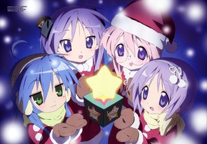 Rating: Safe Score: 22 Tags: christmas hiiragi_kagami hiiragi_tsukasa izumi_konata lucky_star takara_miyuki User: Oyashiro-sama