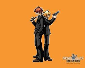 Rating: Safe Score: 9 Tags: before_crisis final_fantasy final_fantasy_vii orange User: Oyashiro-sama