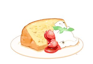 Rating: Safe Score: 22 Tags: animal bear cake chai_(artist) food fruit leaves nobody original polychromatic signed strawberry white User: otaku_emmy