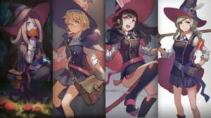 Rating: Safe Score: 70 Tags: akko_kagari diana_cavendish doren hat little_witch_academia lotte_yanson sucy_manbavaran witch witch_hat User: FormX