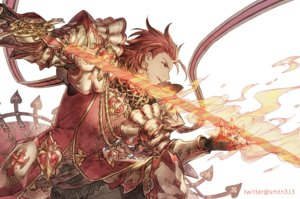 Rating: Safe Score: 24 Tags: all_male armor fire gloves granblue_fantasy magic male percival_(granblue_fantasy) red_eyes red_hair short_hair someta_ni sword watermark weapon User: otaku_emmy