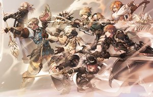 Rating: Safe Score: 24 Tags: animal_ears armor au_ra blonde_hair book boots breasts brown_eyes brown_hair catgirl cleavage final_fantasy final_fantasy_xiv glasses gloves hat horns hyur instrument lalafell long_hair male mihira_(tainosugatayaki) miqo'te short_hair staff sword tail weapon white_hair User: SciFi