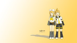 Rating: Safe Score: 5 Tags: 3d gradient kagamine_len kagamine_rin male vocaloid User: NetRation