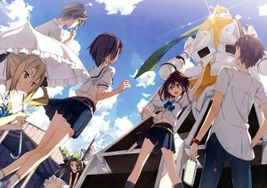 Rating: Safe Score: 201 Tags: airi_(robotics;notes) daitoku_junna hidaka_subaru kantoku koujiro_frau robotics;notes scan school_uniform senomiya_akiho sky yashio_kaito User: Wiresetc