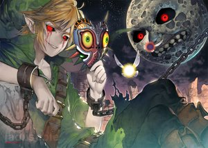 Rating: Safe Score: 68 Tags: all_male ben_drowned blonde_hair blood boots chain creepypasta fairy hat kawacy link_(zelda) male mask moon night pointed_ears red_eyes shackles signed tael tatl tears the_legend_of_zelda User: otaku_emmy