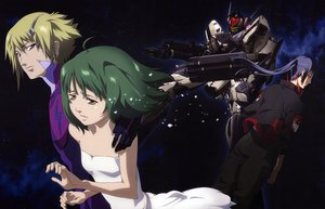 Rating: Safe Score: 11 Tags: brera_stone macross_frontier mecha ranka_lee saotome_alto tears User: atlantiza