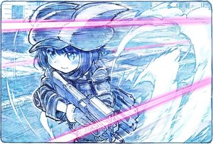 Rating: Safe Score: 28 Tags: gloves gun gun_gale_online hat kohiruimaki_karen llenn_(sao) loli military polychromatic sakino_shingetu short_hair sketch sword_art_online sword_art_online_alternative:_gun_gale_online weapon User: otaku_emmy