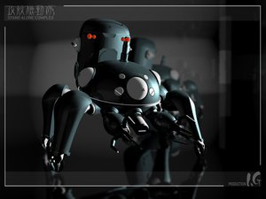 Rating: Safe Score: 9 Tags: 3d ghost_in_the_shell ghost_in_the_shell:_stand_alone_complex tachikoma User: Oyashiro-sama