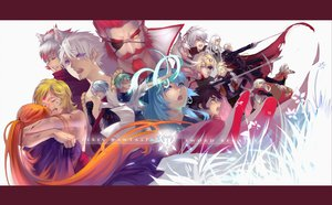 Rating: Safe Score: 37 Tags: animal_ears aqua_eyes bicolored_eyes black_hair blonde_hair blue_eyes blue_hair brown_hair eyepatch gloves green_hair joseph_lee long_hair magic pixiv_fantasia purple_eyes red_eyes red_hair scarf short_hair sword weapon white_hair yellow_eyes User: Maboroshi