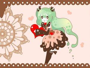 Rating: Safe Score: 21 Tags: hatsune_miku heart vocaloid youshiki_(mokomokohituji) User: PiroskY