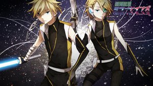 Rating: Safe Score: 38 Tags: gun hukkyunzzz kagamine_len kagamine_rin sword vocaloid weapon User: FormX