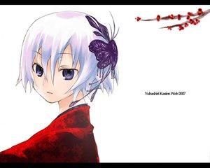 Rating: Safe Score: 15 Tags: headdress purple_eyes white white_hair User: Oyashiro-sama