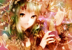 Rating: Safe Score: 81 Tags: butterfly gumi sikiasairo vocaloid User: FormX