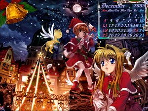 Rating: Safe Score: 7 Tags: air calendar card_captor_sakura christmas kamio_misuzu kero kinomoto_sakura moonknives wings User: Oyashiro-sama