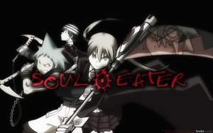 Rating: Questionable Score: 33 Tags: black_star death_the_kid maka_albarn soul_eater User: anngo