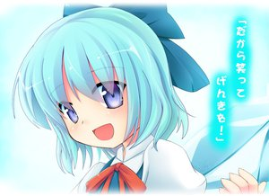 Rating: Safe Score: 22 Tags: blue_eyes blue_hair cirno niiya short_hair touhou wings User: SciFi