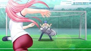 Rating: Safe Score: 26 Tags: angel_beats! ball game_cg hinata_hideki key male na-ga soccer sport yui_(angel_beats!) User: Tensa