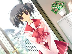 Rating: Questionable Score: 7 Tags: aquaplus game_cg leaf mitsumi_misato to_heart to_heart_2 User: xararx