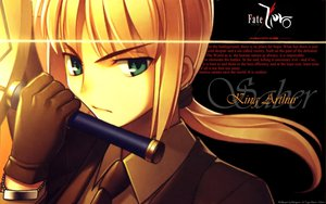 Rating: Safe Score: 51 Tags: artoria_pendragon_(all) fate_(series) fate/stay_night fate/zero saber sword weapon User: acucar11