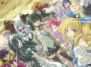 Rating: Safe Score: 45 Tags: glasses maid s1 sunset tagme thighhighs zero_saber User: Wiresetc