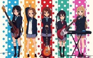 Rating: Safe Score: 72 Tags: akiyama_mio guitar headband hirasawa_yui instrument k-on! kneehighs kotobuki_tsumugi nakano_azusa pantyhose tainaka_ritsu twintails User: meccrain