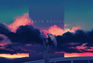 Rating: Safe Score: 62 Tags: black_bullet clouds japanese_clothes kimono polychromatic sunset tagme_(character) ukai_saki umbrella User: FormX