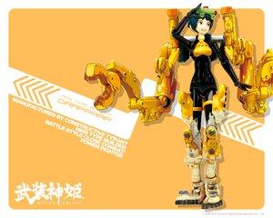 武装神姫の壁紙 1280×1024px 653KB