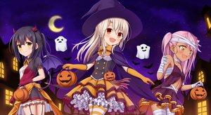 Rating: Safe Score: 36 Tags: chloe_von_einzbern fate/kaleid_liner_prisma_illya fate_(series) halloween illyasviel_von_einzbern loli miyu_edelfelt moon morokoshi_(tekku) User: kyxor