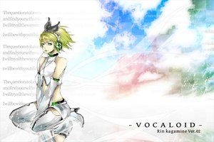 Rating: Safe Score: 8 Tags: boots clouds headphones kagamine_rin shorts sky vocaloid User: HawthorneKitty