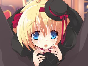 Rating: Explicit Score: 12 Tags: alice_parade cum game_cg hat odoodo_funny unisonshift User: 秀悟
