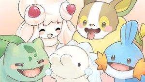 Rating: Safe Score: 15 Tags: alcremie bulbasaur mudkip pokemon siratamairipafe snom yamper User: otaku_emmy