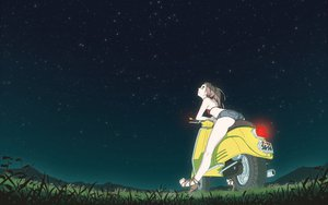 Rating: Safe Score: 180 Tags: ass flcl nikerabi scenic stars vespa User: mrdkreka