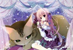 Rating: Safe Score: 81 Tags: animal cat dress inugami_kira long_hair original User: Wiresetc