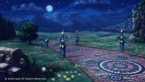 Rating: Safe Score: 32 Tags: flowers forest grass landscape makkou_4 moon night nobody original scenic stars tree watermark User: RyuZU