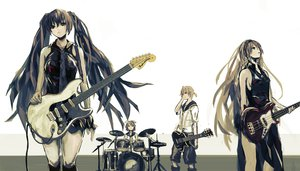 Rating: Safe Score: 140 Tags: drums guitar hatsune_miku instrument kagamine_len kagamine_rin megurine_luka seafh vocaloid User: HawthorneKitty
