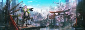 Rating: Safe Score: 51 Tags: building city industrial original scenic tomok1 torii User: FormX