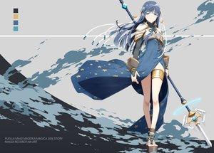Rating: Safe Score: 63 Tags: blue_eyes blue_hair dress long_hair magia_record:_mahou_shoujo_madoka_magica_gaiden mahou_shoujo_madoka_magica nanami_yachiyo sakuraba_yuuki spear weapon User: RyuZU