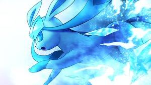 Rating: Safe Score: 15 Tags: aliasing blue glaceon higa-tsubasa pokemon polychromatic white User: otaku_emmy