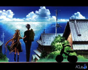 Rating: Safe Score: 17 Tags: air kamio_misuzu key kunisaki_yukito puppet visualart User: Oyashiro-sama