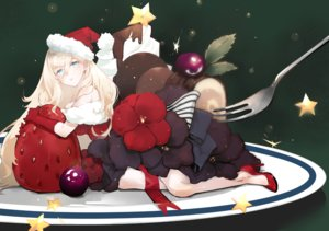 Rating: Safe Score: 32 Tags: anthropomorphism blonde_hair breasts cake chocolate christmas dress flowers food fruit green_eyes hat kantai_collection long_hair nello_(luminous_darkness) richelieu_(kancolle) santa_hat strawberry User: BattlequeenYume