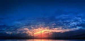 Rating: Safe Score: 13 Tags: clouds original reflection scenic silhouette sky skyrick9413 sunset water User: mattiasc02