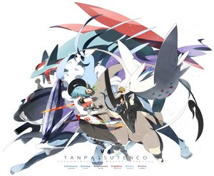 Rating: Safe Score: 58 Tags: altaria crossover hinanawi_tenshi katana magnezone pokemon salamence siirakannu suicune sword togekiss touhou weapon User: FormX