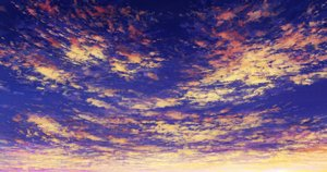 Rating: Safe Score: 21 Tags: aoha_(twintail) clouds nobody original polychromatic sky sunset User: FormX
